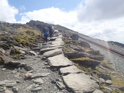 Llanberis Path Snowdonia Guided treks