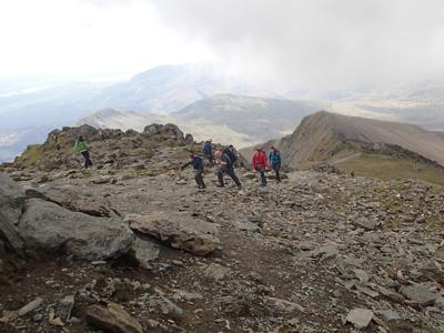 Rhyd Ddu trek Snowdonia